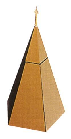 モダンに遺影を飾れるルーツハウス[ベージュ・内側ブラウン](サイズ2種類) モダン仏壇